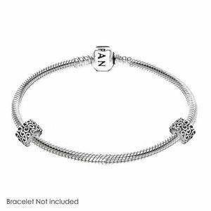 Pandora Sterling Silver Swirl Bracelet Clip